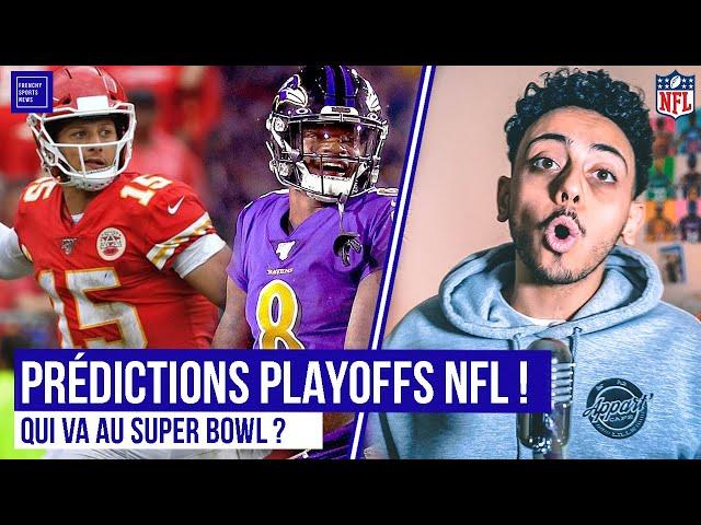 MES PRÉDICTIONS PLAYOFFS NFL 2020 ! QUI IRA AU SUPER BOWL ?