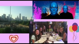 CHICAGO! Bus Ride, Chinatown, Blue Man Group!
