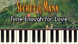 Time Enough for Love - Secret of Mana [Synthesia]