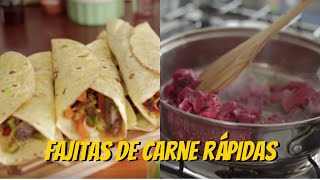 how to roll a fajita