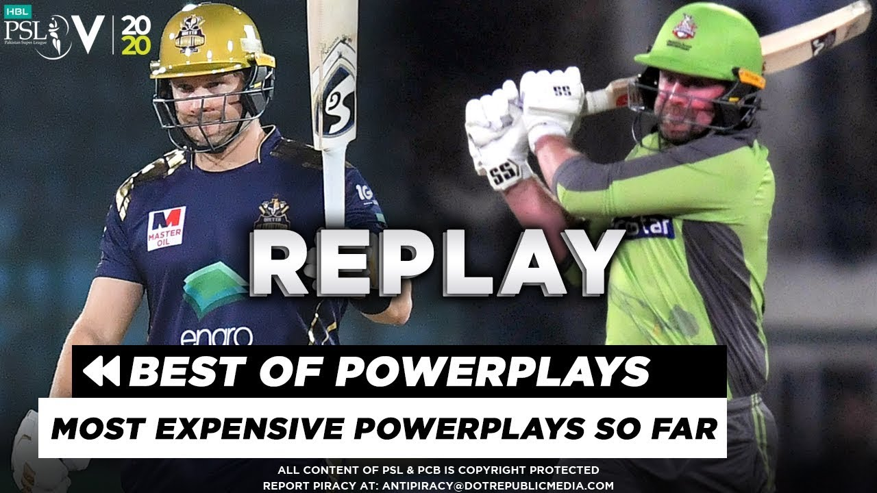 Most Expensive Powerplays So Far in HBL PSL 2020 | HBL PSL 5