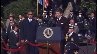 President Reagan's Remarks at Arrival Ceremony for President Duarte on October 14, 1987