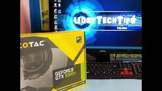 ZOTAC GeForce GTX 1050 Ti mini, 4GB GDDR5 Unboxing - telugu