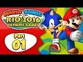 Mario & Sonic At The Rio 2016 Olympic Games - Part 1   Day 1: Join Mario's Gym! [English Gameplay]