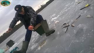 Зимняя рыбалка на озере Степино 2013 2014 Фотоархив