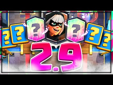 CHEAP 2.9 BANDIT DECK! • This Clash Royale Deck is Amazing!!
