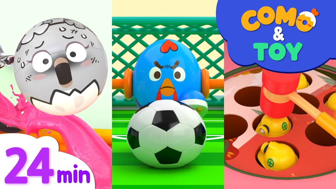 Download Como   Color Paint Mixing + More Episode 24min   Learn colors and words   Como Kids TV