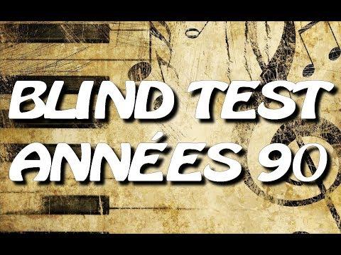 BLIND TEST ANNÉES 90 (80 EXTRAITS) - AVEC RÉPONSES