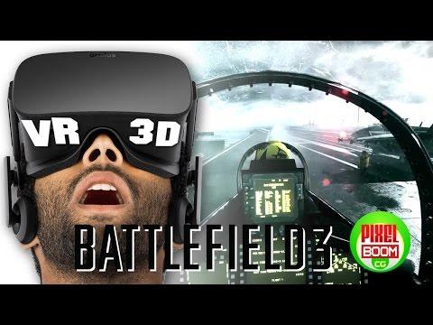 BATTLEFIELD 3 - VR VIDEO 3D SBS F18 Hornet Full Mission JET FIGHTER  VR 4K