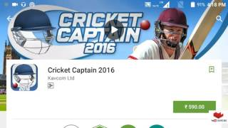 how to download cricket captain 2016 for free and installation