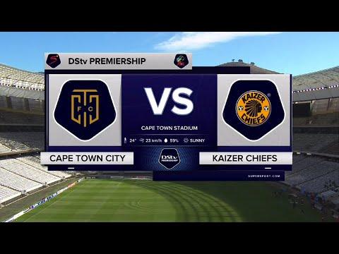 DStv Premiership | Cape Town City vs Kaizer Chiefs | Highlights