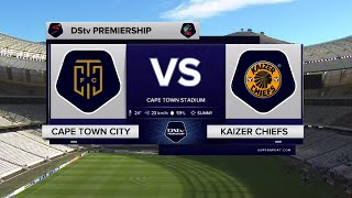 DStv Premiership | Cape Town City v Kaizer Chiefs | Highlights