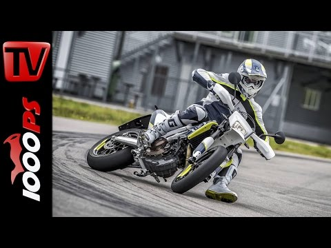 Husqvarna 701 Supermoto Kurz-Test | Rennstrecke Brünn 2016