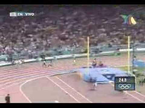 Ana Guevara Atenas 2004 Medalla de Plata en 400m