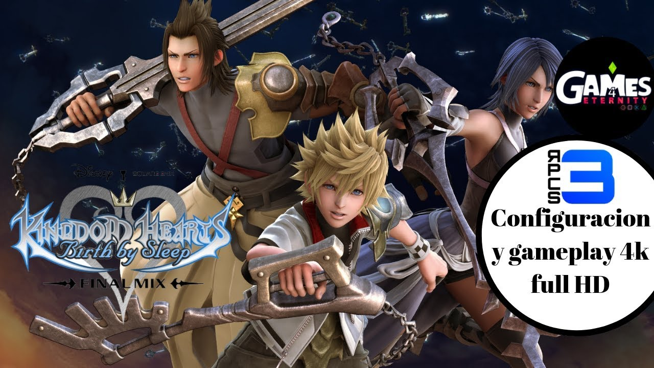RPCS3 Kingdom Hearts Birth by Sleep 30fps 4k | Configuracion