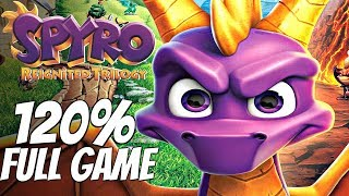 Spyro Reignited Trilogy - Walkthrough 120% Complete All Dragons, All Gems, All Eggs FULL GAME