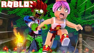 THE ZOMBIES COME FOR ME IN ROBLOX!! 😱🧟