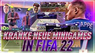 FIFA 22 : Diese NEUEN Mini Games sind zu LUSTIG😂🔥
