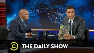 John Lewis Extended Interview - Getting Into Trouble to Fight Injustice: The Daily Show thumbnail