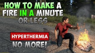 0.61 | DayZ SA How to make a fire in 1 MINUTE!