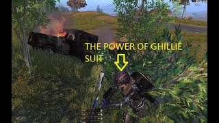THE POWER OF GHILLIE SUIT #NGAKAK!!!