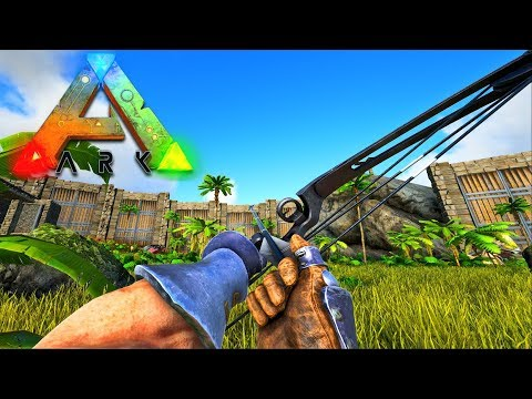 MASTERCRAFT COMPOUND BOW! - EASY WAY TO GET ORGANIC POLYMER! - Ark Vanilla! S4 Ep47!