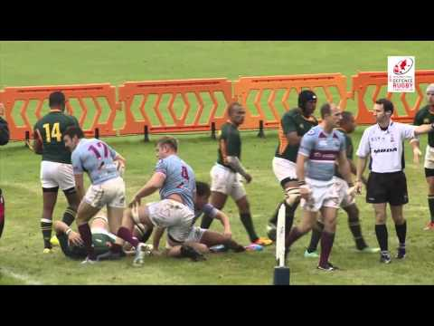Royal Air Force vs South Africa Defence Force IDRC Pool A R3 Highlights 15-10-15