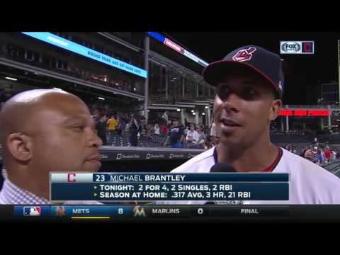 Michael Brantley credits his work ethic for being able to ease back in Cleveland Indians lineup