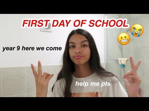 first day of school *british secondary school*