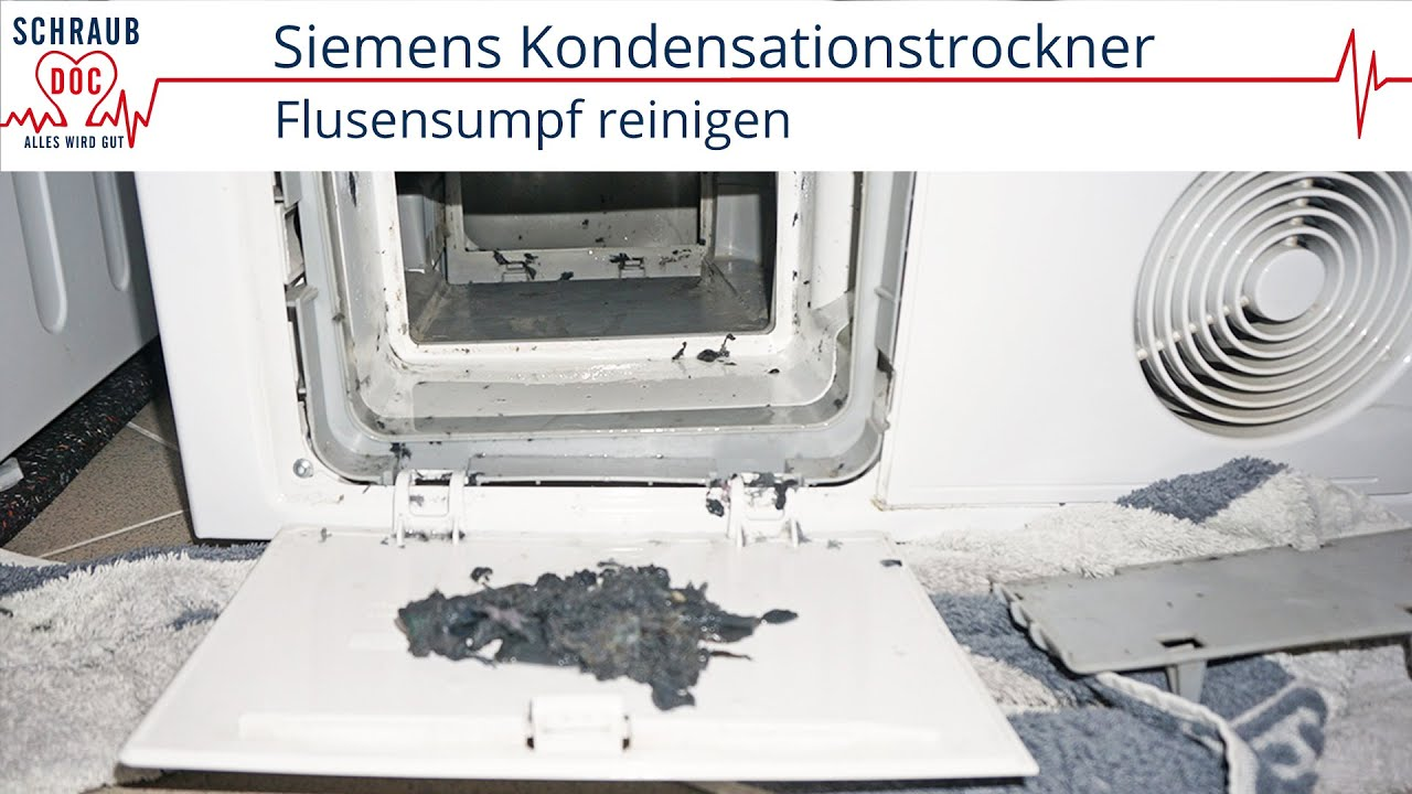 Siemens Kondensationstrockner: Fehlermeldung Behlter ...