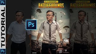 Photoshop Manipulation Tutorial // How to Create PUBG Gaming Poster   #12