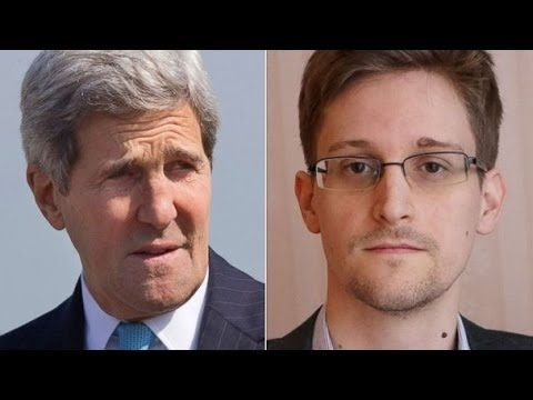 "John Kerry Responds to Edward Snowden: ""Man Up!"""