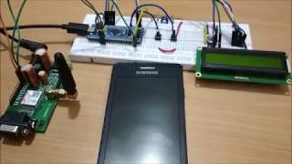 Interfacing SIM800C GSM Module with STM32F103C8 for Sending & Receiving SMS Video