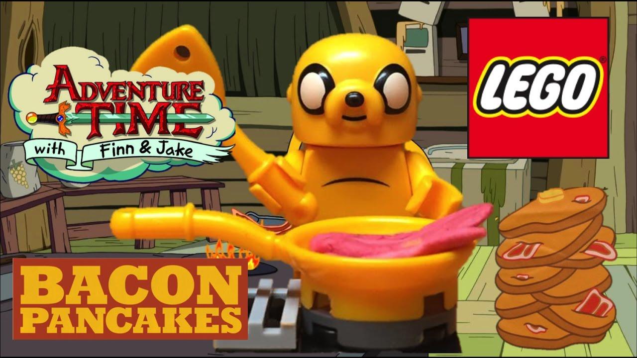 Lego Bacon Pancakes Adventure Time Animation Test Youtube