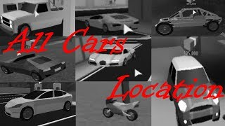 All Roblox Jailbreak Cars Locations!