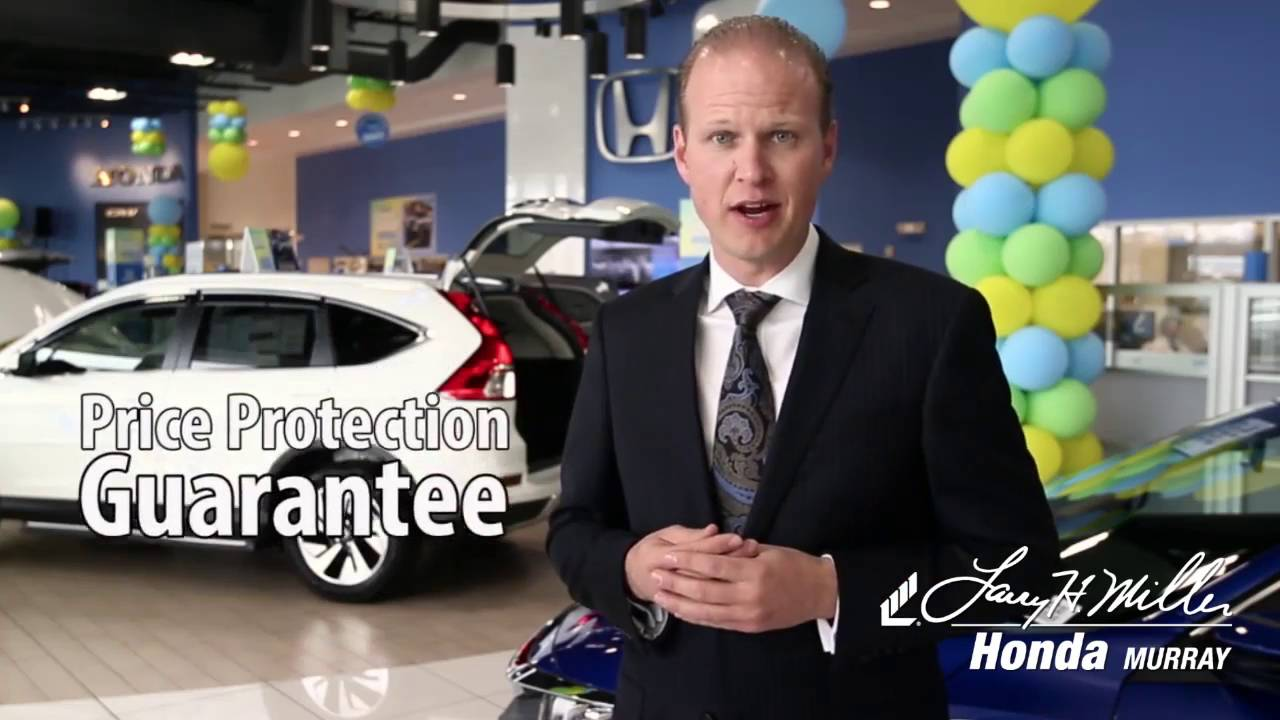 Larry Miller Honda >> Price Protection Guarantee At Larry H Miller Honda Murray