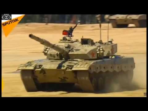 "International Army Games 2017  ""Race 6 Azerbaijan, Kuwait, Mongolia & China"""