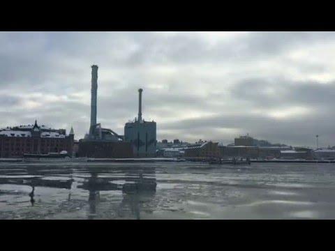 A ferry ride to Lindholmen, Gothenburg