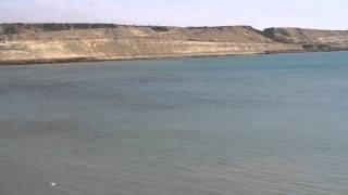 القناة الجديدة فى مدخل الجنوب بمنطقة الدفرسوار فبراير2015