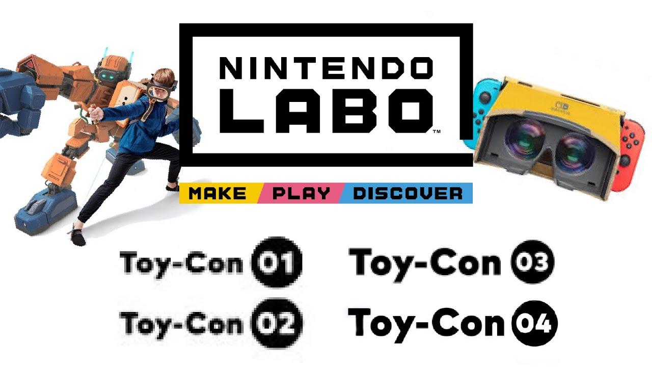 Nintendo Labo- All Trailers (2018-2019)