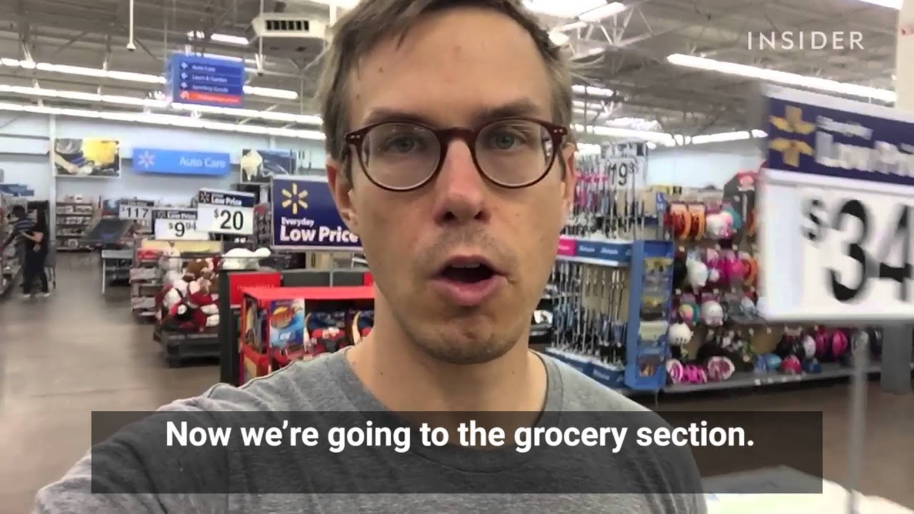 A New Yorker Went To A Walmart For The First Time In 10