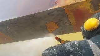 SandPress Suwnica - renowacja - hydropiaskowanie/piaskowanie cz.1