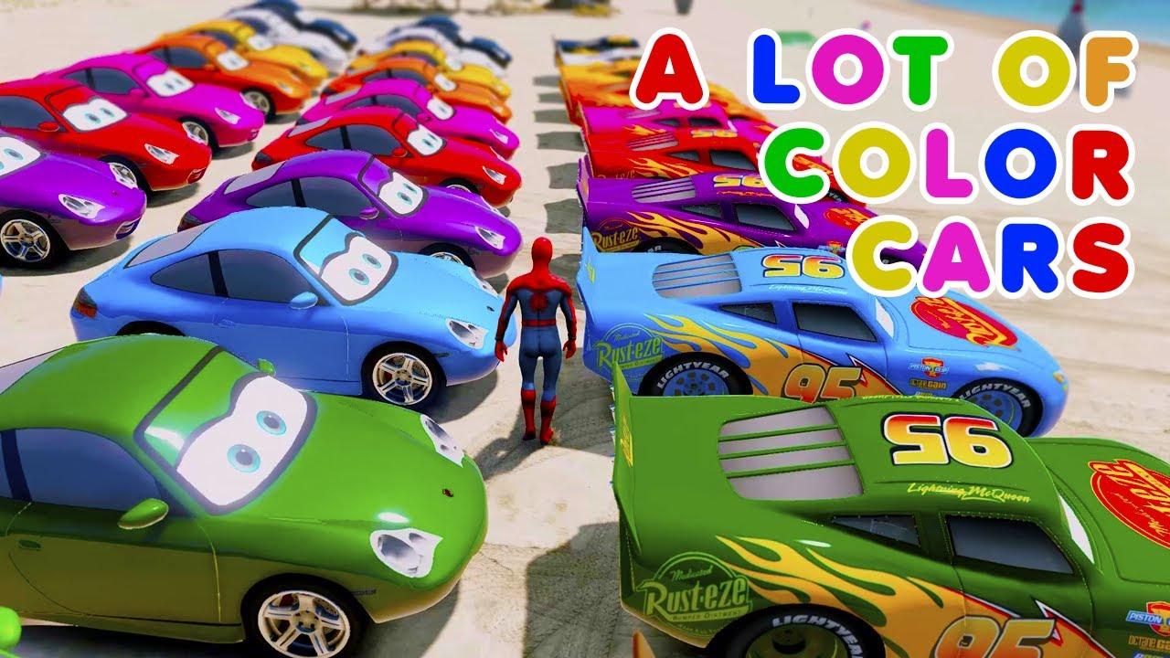 Mack Truck Fabulous McQueen LIVE MIX Cruz Ramirez Cars 3 cartoon Cars (Carros) Jackson Storm Stream