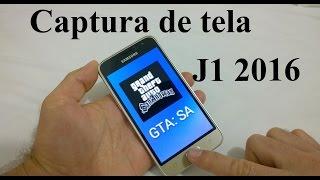 Galaxy J1 2016   Captura de Tela (Print Screen)