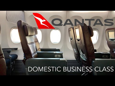 Qantas Business Class Review - QF674 Adelaide to Melbourne (B737-800)