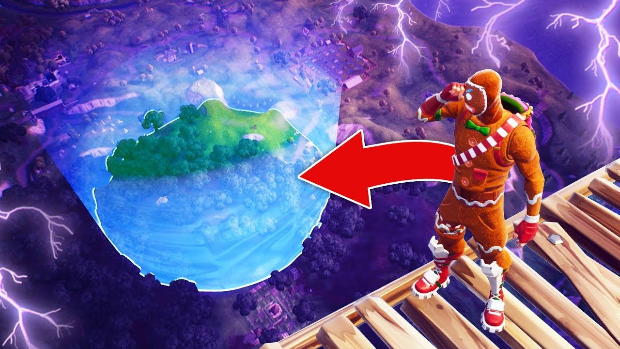 can you win without leaving the storm fortnite battle royale