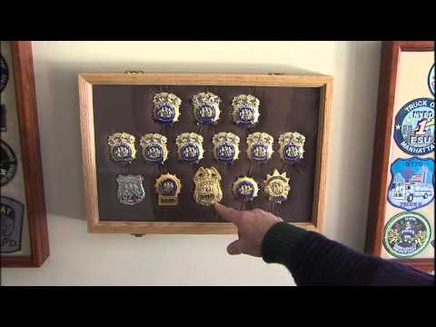 Illinois Stories | Police Patch Collector | WSEC-TV/PBS Springfield
