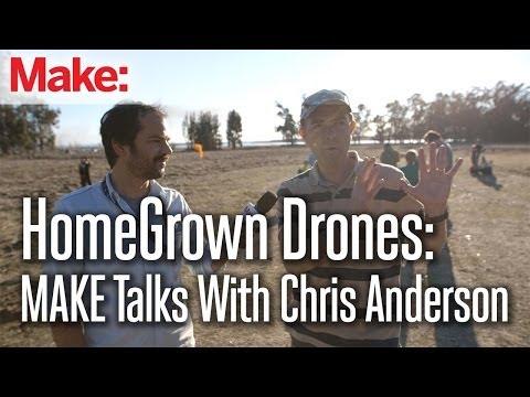3D Robotics' Chris Anderson Discusses the Future of Consumer Drones