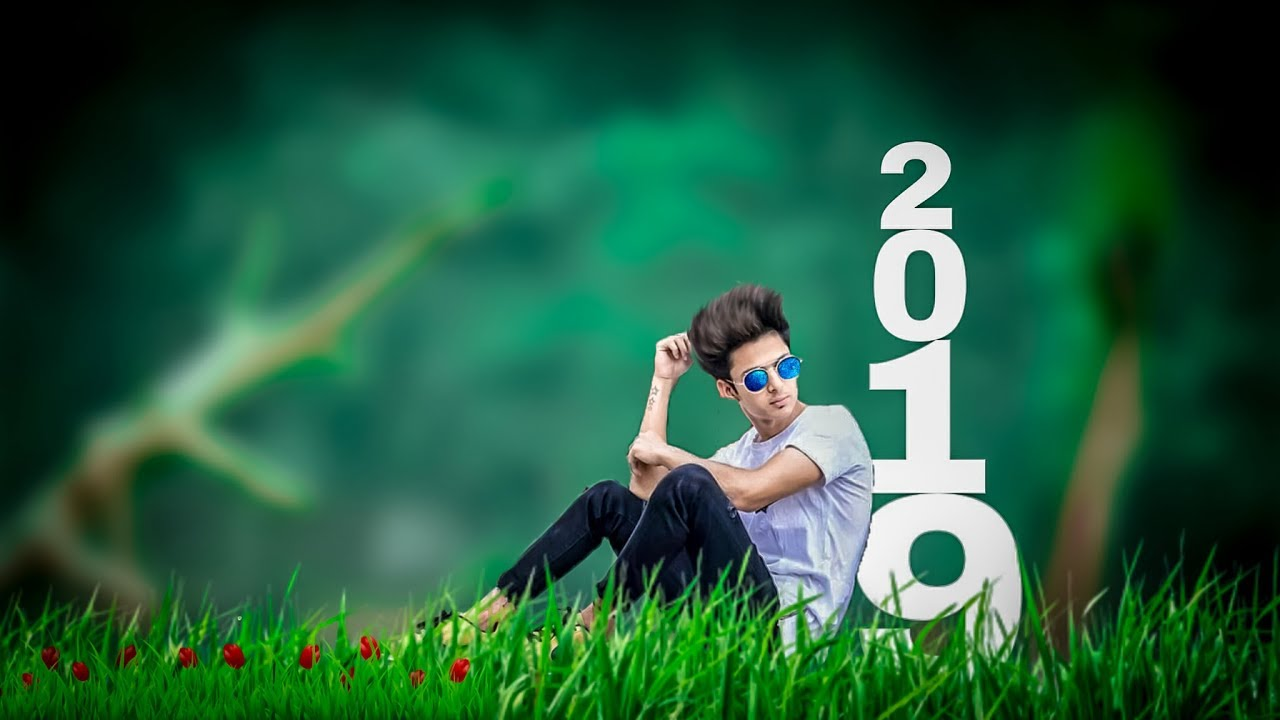 Happy New Year 2019    Photo editing    Best Editing Tutarial in PicsArt     picsart editing tutorial