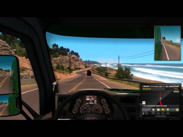 American Truck Sim Part I No Commentary Let's Play 720P/60FPS